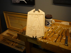 Lost Art Press Sample Sign